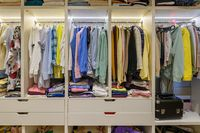 Large woman's wardrobe