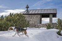 Fahrenbergkapelle mit Winter