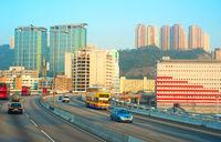 Hong Kong highway