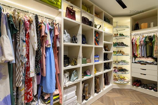 Large woman's wardrobe