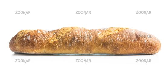 Crispy fresh baguette.