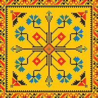 Romanian traditional pattern 216
