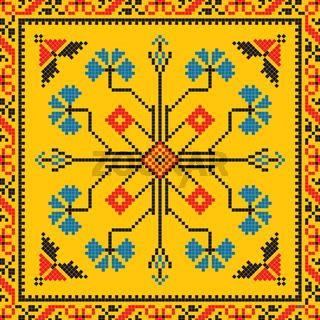 Romanian traditional pattern 216