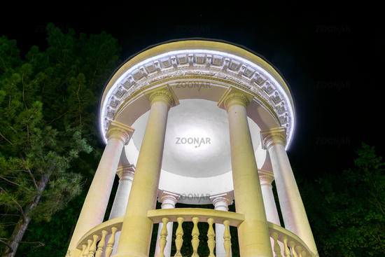 The Rotunda from the Valea Morilor Park in Chisinau, Moldova