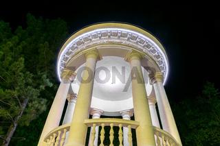 The Rotunda from the Valea Morilor Park in Chisinau, Moldova