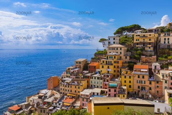 Riomaggiore in Cinque Terre - Italy