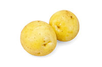 Potatoes yellow new