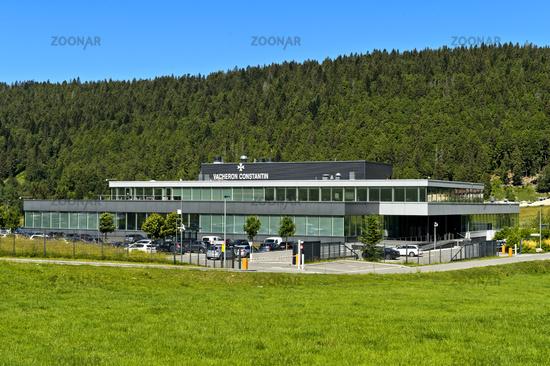 Production center of the watch manufacturer Vacheron Constantin, Le Brassus, Vaud,Switzerland