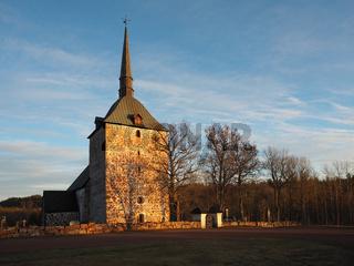 Kirche in Sund, Aland, Johannes der Täufer