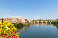 Old bridge in Montauban