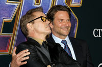 Bradley Cooper and Robert Downey Jr.
