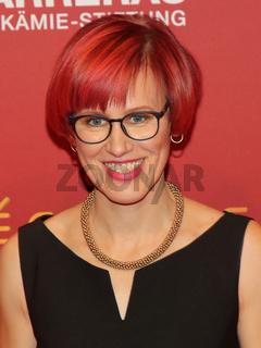 Kati Wilhelm bei der 25. José Carreras Gala am 12.12.2019 in Leipzig
