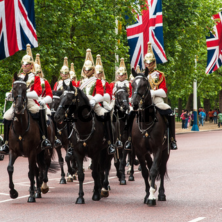 Wachablösung London