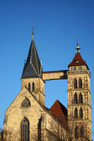 St. Dionys town church in Esslingen