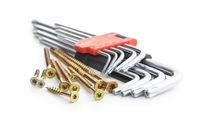 Torx screwdrivers and metal screws