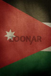 Central part flag of Jordan