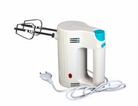 Electric hand mixer is a kitchen appliance