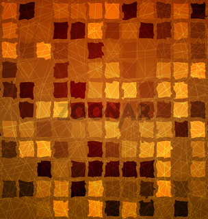 Brick tile orange with grunge
