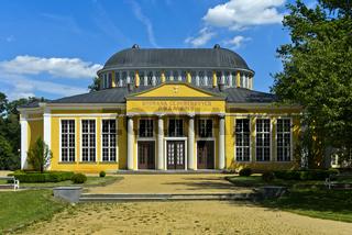 Halle der Glauberquellen III und IV, Kurort Franzensbad, Františkovy Lázne, Tschechische Republik
