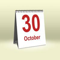 October 30th | 30.Oktober