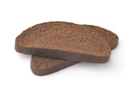 Two slices of rye bread