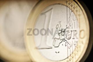 Detail einer Euro Münze