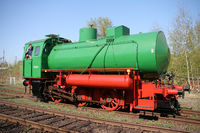 fireless stream locomotive
