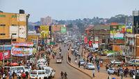 On the streets of Kampala, the capital of Uganda