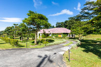 Panama Boquete villa with tropical garden