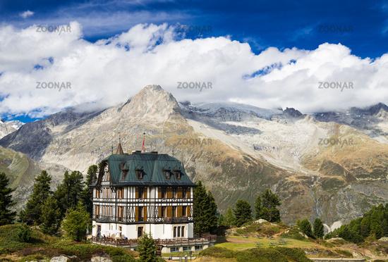 Villa Cassel Swiss Alps Valais Switzerland