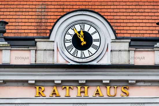 City Hall clock,