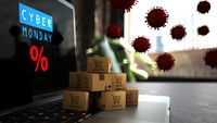 Online shopping during Cyber Monday in times of Coronavirus