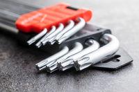 Metal torx screwdrivers