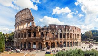 Beautiful Colosseum in Rome