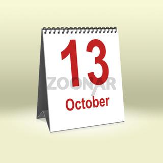 October 13th   13.Oktober