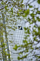 Deutsche Bank Headquarters with Logo