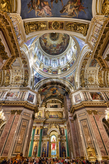 St. Petersburg Russia. St. Isaac's Cathedral