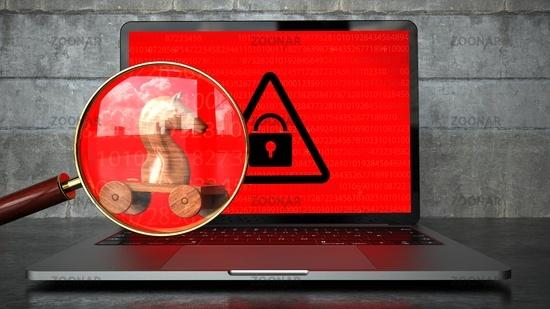 Encrypted Notebook Trojan Malware Detected