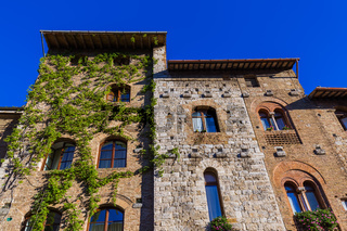 San Gimignano medieval town in Tuscany Italy