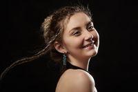 happy female portrait