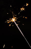 New year party sparkler