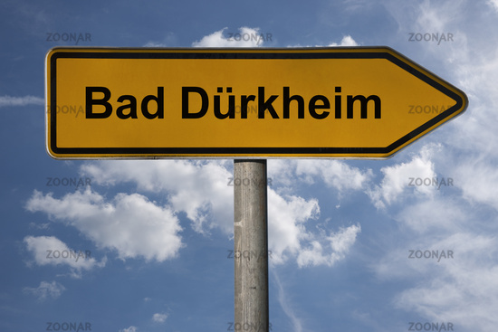 Wegweiser Bad Dürkheim   signpost Bad Dürkheim