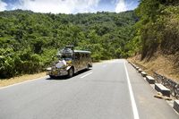 Country Road along the Coast in Oriental Mindoro
