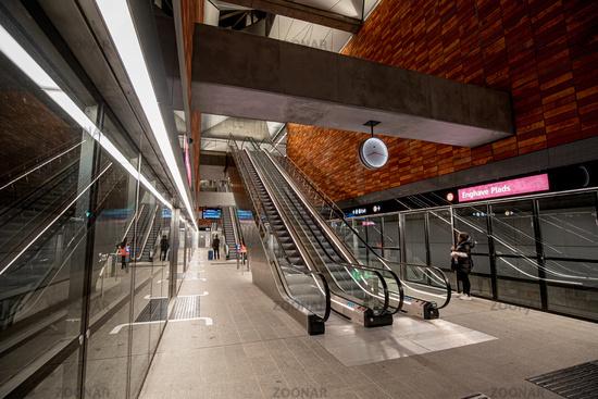 Copenhagen Metro Station
