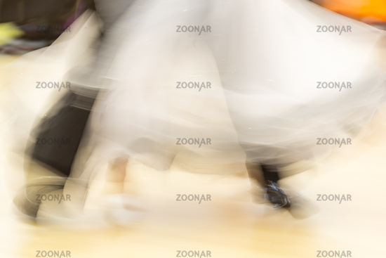 Classical dance, detail