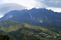 Mount Kinabalu is the highest mountain on the island of Borneo, Borneo, Malaysia