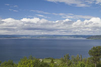 View of the Trondheim fjord