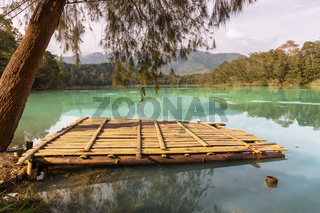 Lake in Dieng