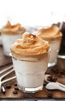 Whipped Coffee im Glas