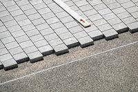 Lay concrete floor slabs